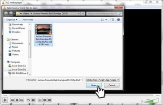 Play and Convert MTS Files with VLC