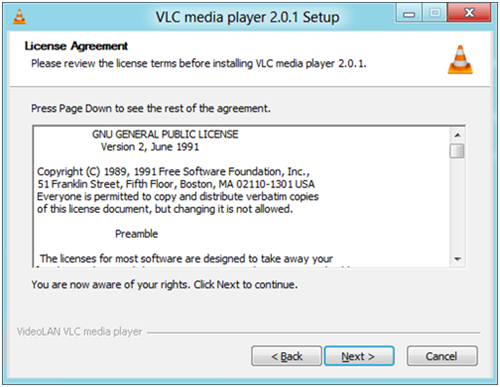 vlc auf windows installieren