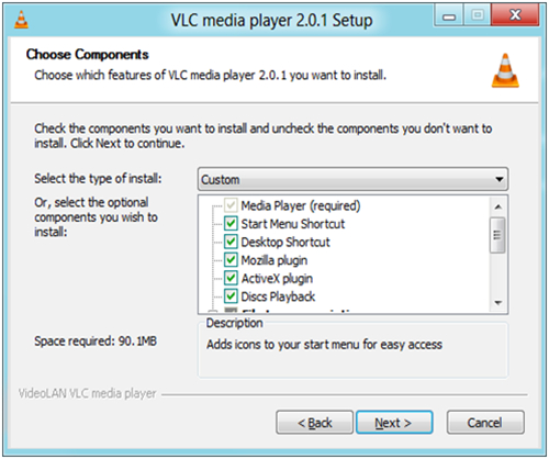 latest version of vlc for windows 8.1