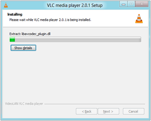 vlc auf windows 8 installieren