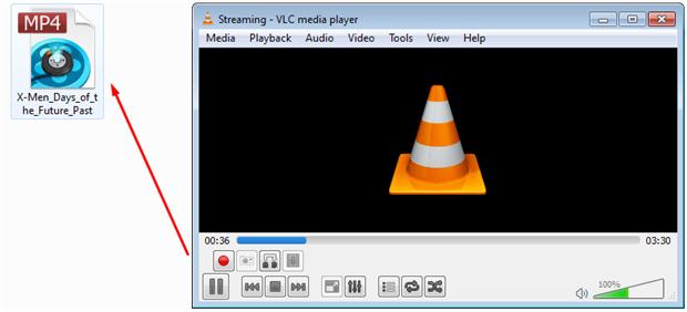 VLC auf DVD brennen
