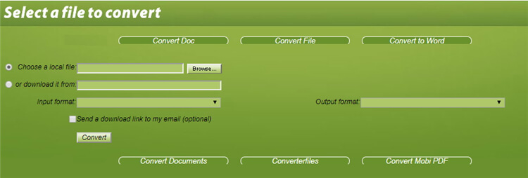 WMV to MOV online Converter - convertfiles