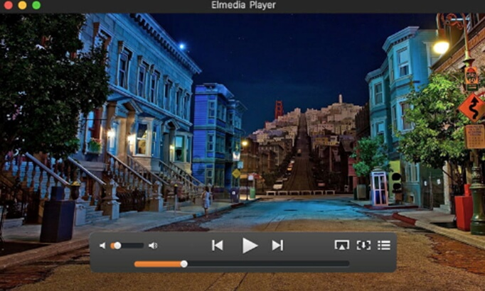 wmv player-elmedia player