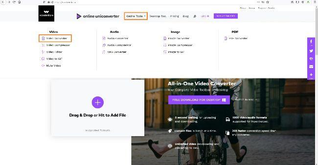 open online converter