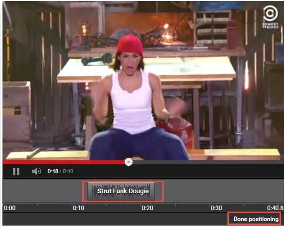 editor de vídeo com música do youtube