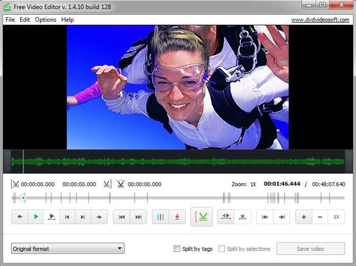 Editor de vídeo grátis