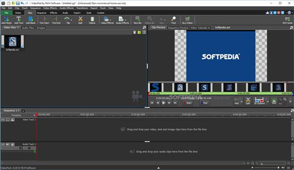 editor de vídeo videopad