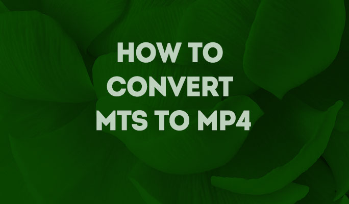 How to Convert MTS to MP4 on Mac/Win keeping HD-quality (Windows 10 included)