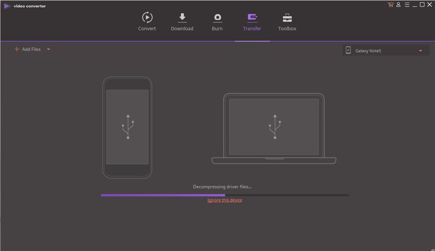 transfer video naar android apparaat