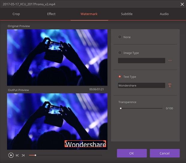 الفيديو Wondershare Video Converter Ultimateنسخة 2018,2017 home_add_watermark.j