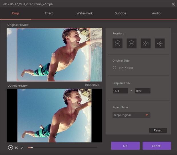 الفيديو Wondershare Video Converter Ultimateنسخة 2018,2017 home_crop_video.jpg